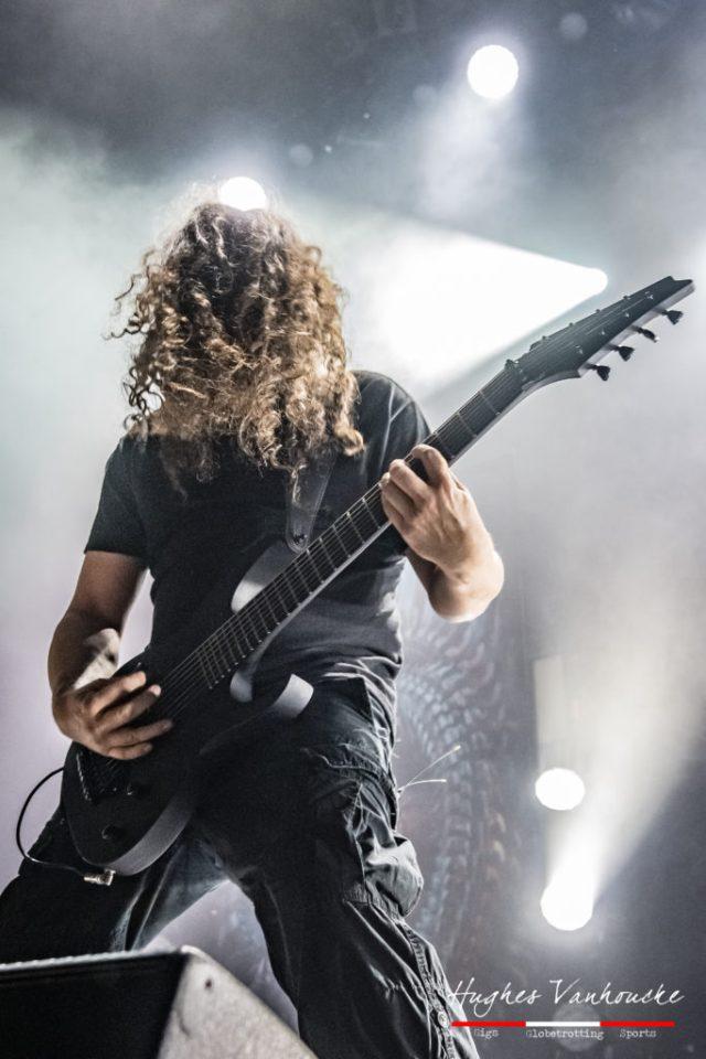 Mårten Hagström - Meshuggah @ 013 - Tilburg - Nederland