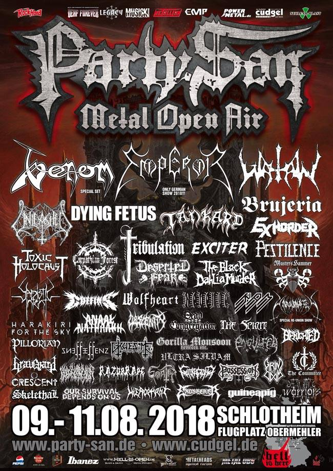 Party San Metal Open Air 2018