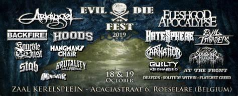 Evil Or Die Fest – Roeselare – 19-10-2019