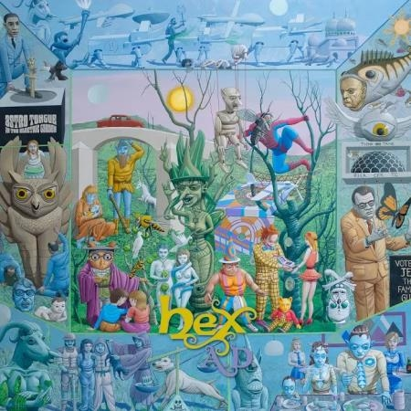 Hex A.D. – Astro Tongue in the Electric Garden
