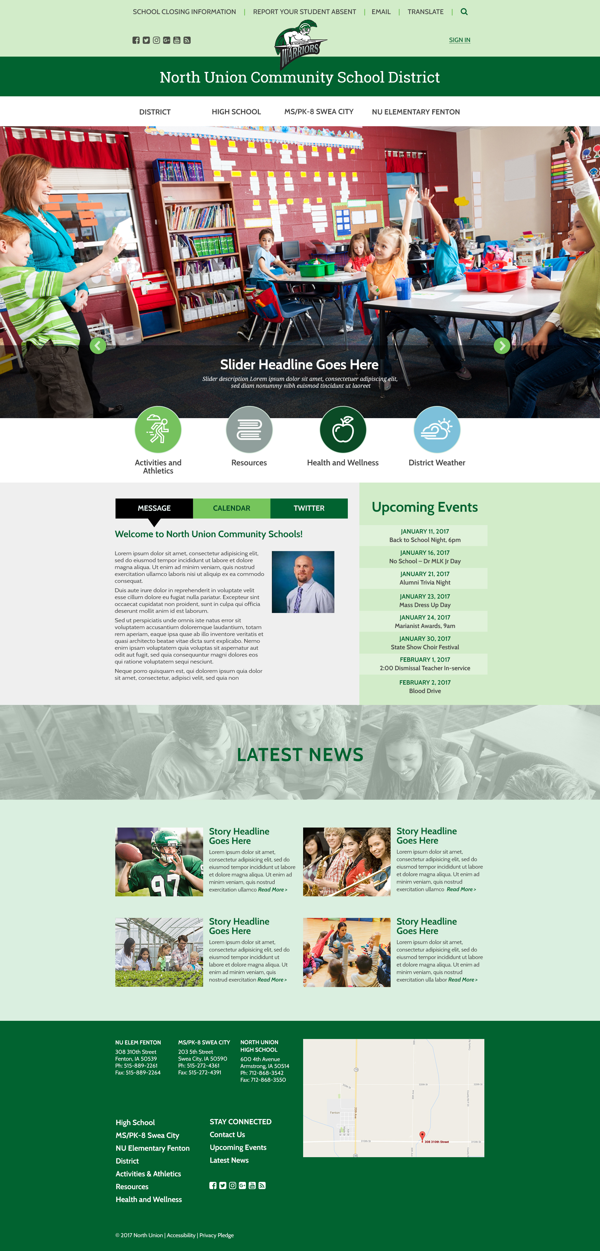 Design #3 - Homepage