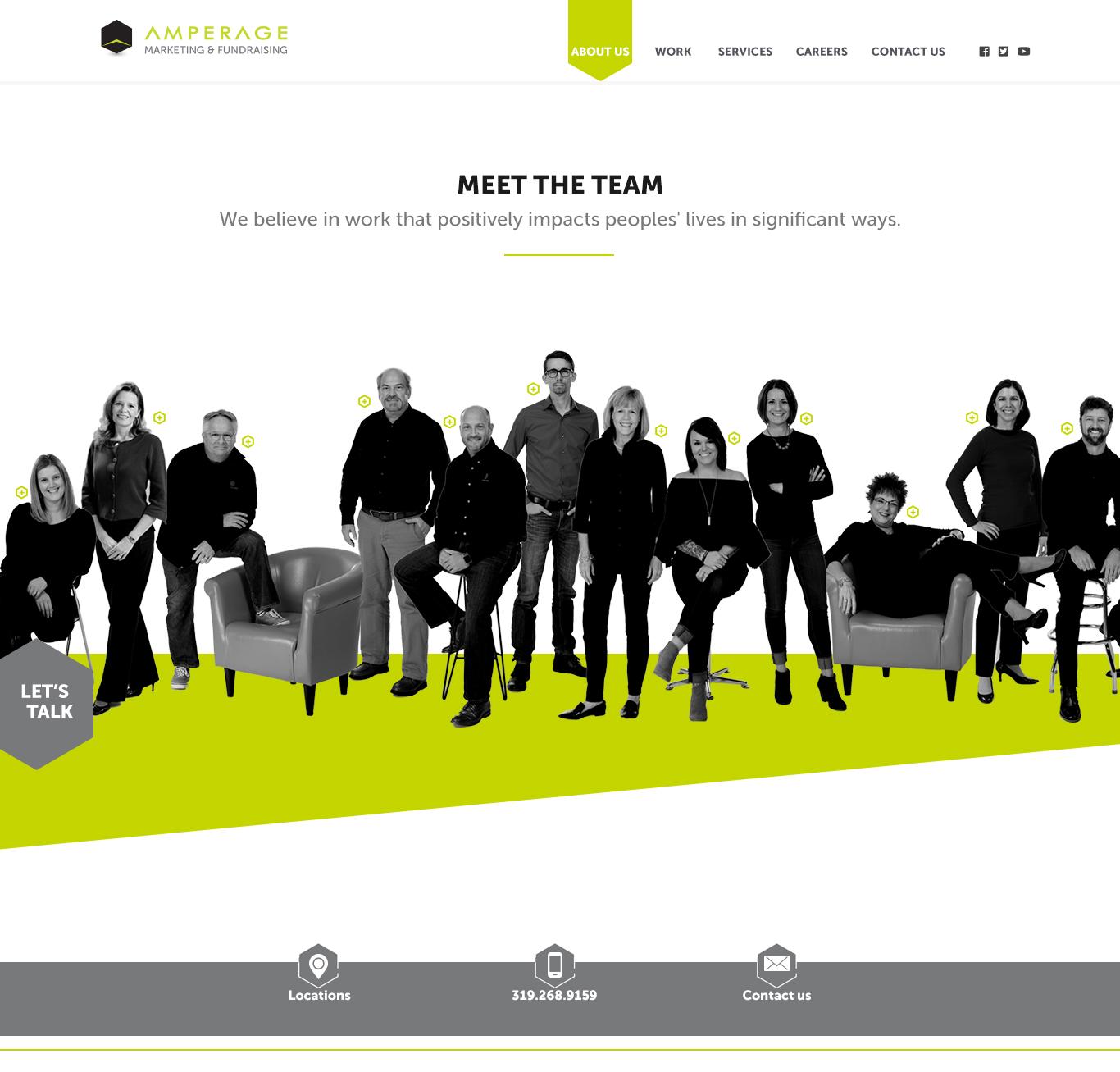 AMPERAGE Meet The Team Design