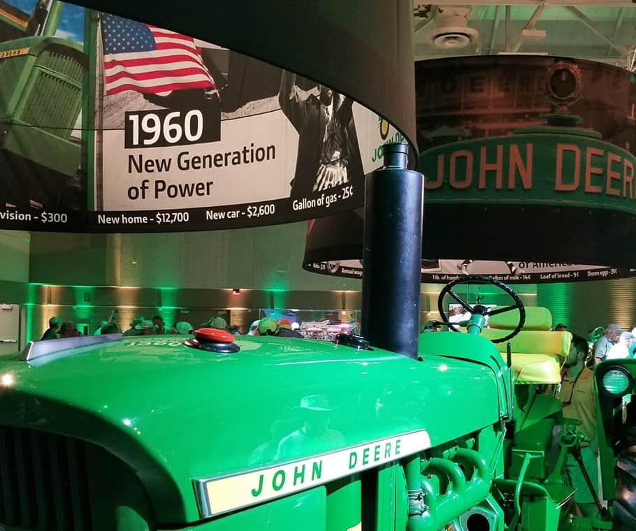 John Deere Celebrates 100 Years of Building Tractors