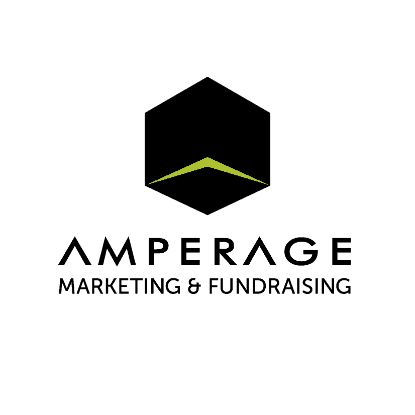 AMPERAGE Marketing & Fundraising Logo