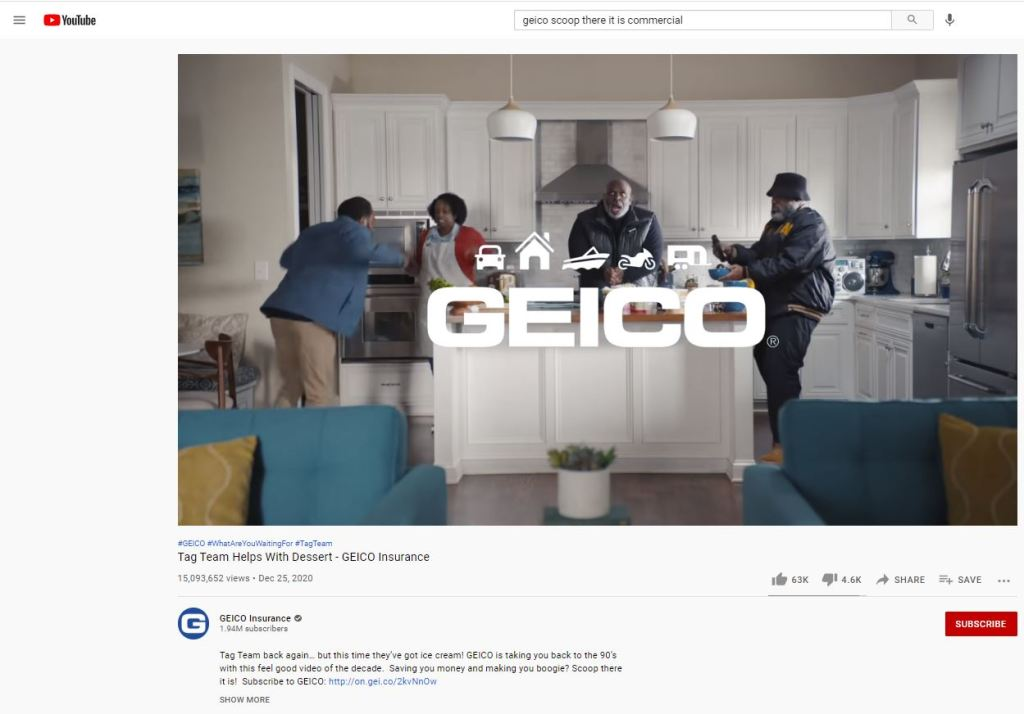 Scoop There It Is - GEICO Commercial