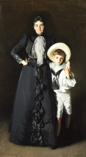 Portrait of Mrs. Edward L. Davis and Her Son, Livingston Davis, 1890, Los Angeles County Museum of Art, Frances and Armand Hammer Purchase Fund