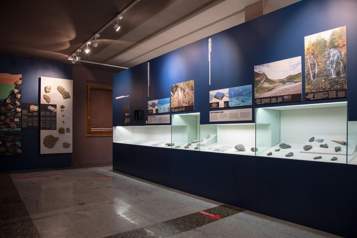 Sala del Museo Geologico