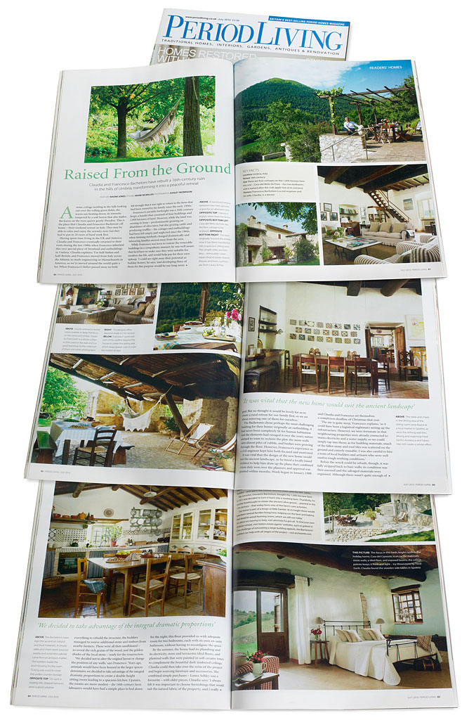 Pages 82 to 86 of the July 2010 issue of Period Living magazine.