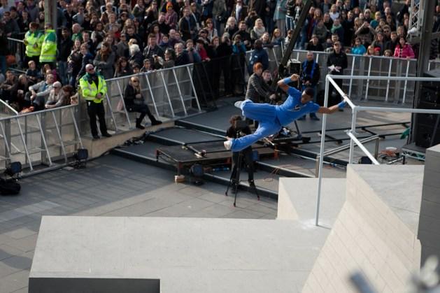 Paul Joseph swings art of motion london