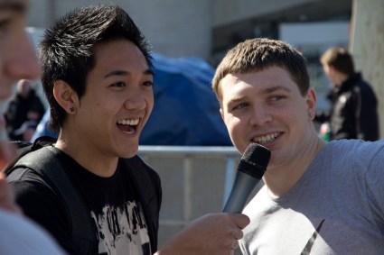 tim shieff and travis wong presenter