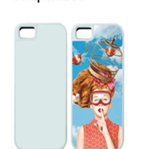 Iphone 5c Carcasa 2D PC