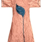 Silk Robe with Tulip