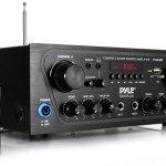 Pyle Upgraded Karaoke Bluetooth Channel Home Audio Sound Power Amplifier