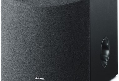 "Yamaha 8"" NS-SW050BL 100W Powered Subwoofer"