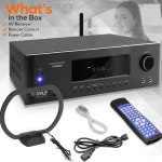 Pyle 100W Bluetooth Home Theater Receiver