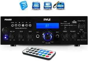 Pyle Wireless Bluetooth Power Amplifier System