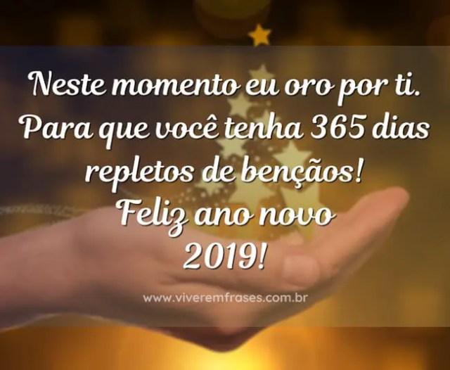Deus abrigado por mais um ano