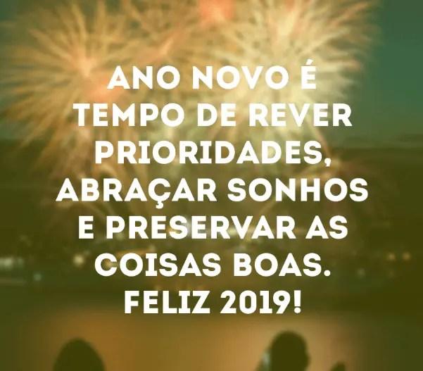 Ano novo é isso