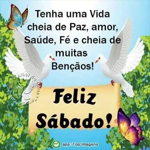 Feliz sábado com fé