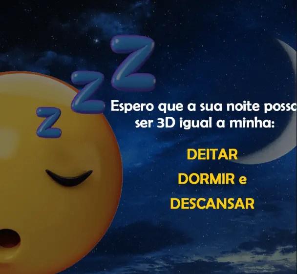 Boa noite 3d