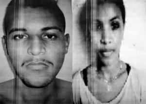 Abraão Moraes da Silva, 23, e Aline da Silva, 21 (Foto: Divulgação)