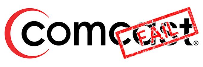 Comcast fail