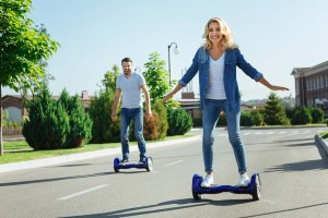 Ride-a-Hoverboard