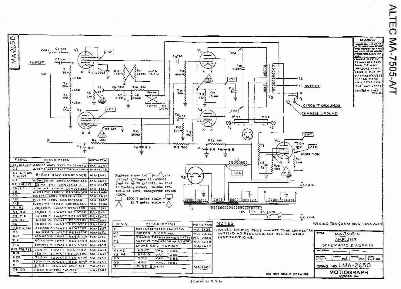 Lma A Wiring Diagram