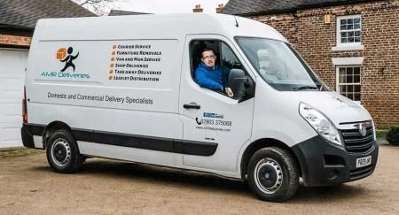 Professional Man with Van