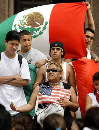 Mexican students in the United States