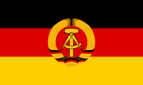 """Under Soviet occupation, East Germany was known as the """"German Democratic Republic."""""""