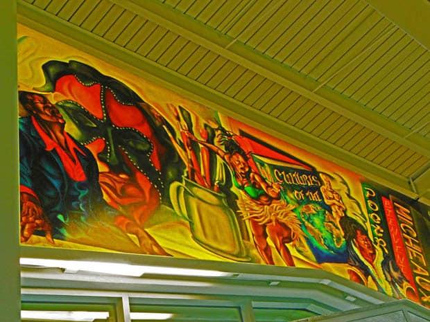 Anacostia Library Mural