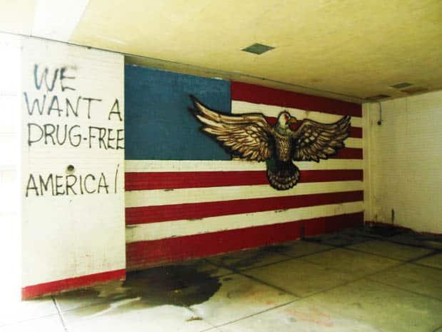 Drug Free America at Malcolm X