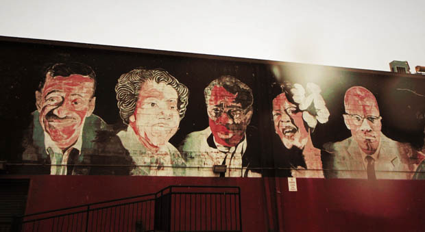 Anacostia Mural with Malcolm X