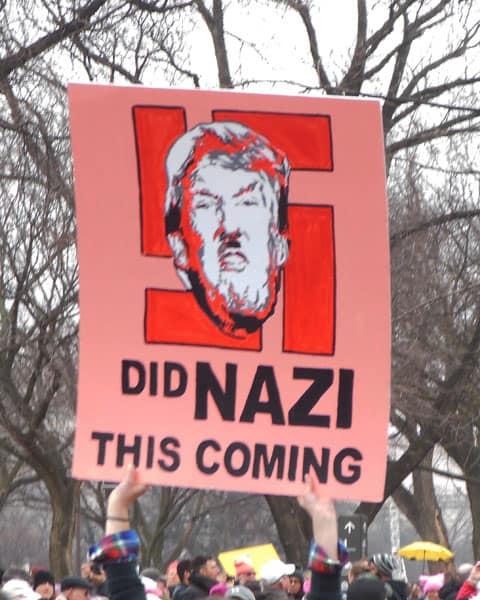 Donald Trump is a Nazi