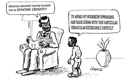 Ebonics Cartoon