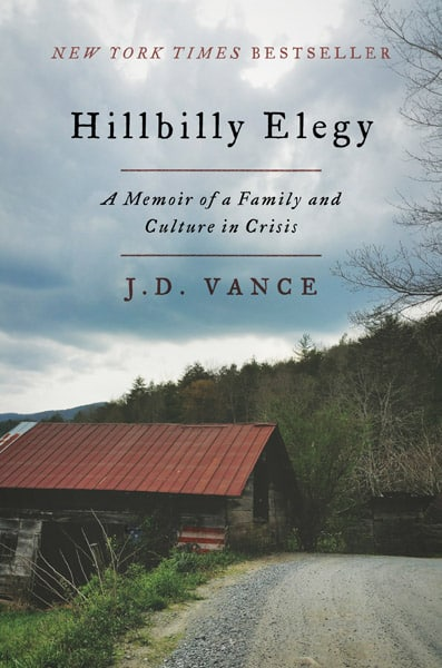 Hillbilly Elegy by JD Vance