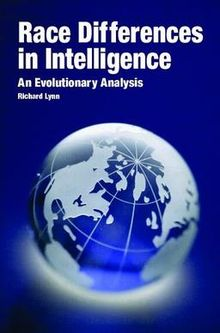 Race Differences in Intelligence by Richard Lynn
