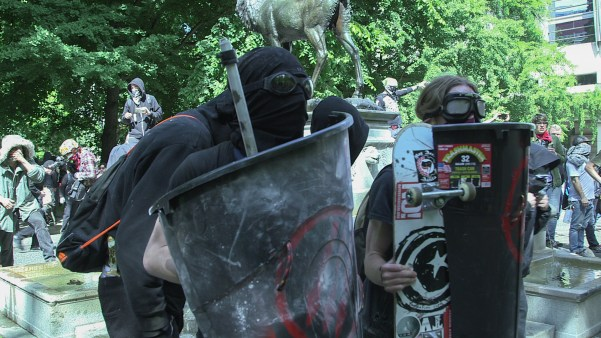 Antifa in Portland Oregon