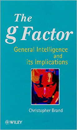 The g Factor by Christopher Brand