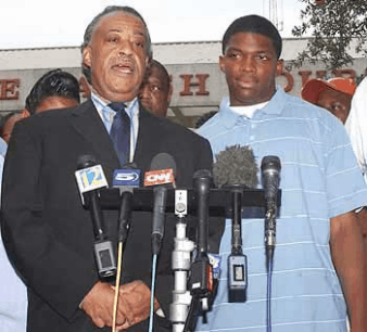 Al Sharpton and Mychal Bell