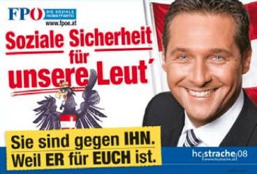 Austrian political poster