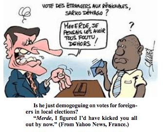 French Riot Cartoon
