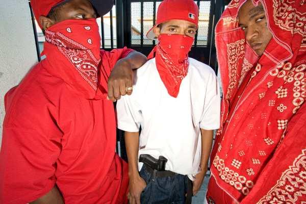 Black Blood Gang Members