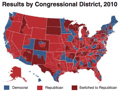 2010 Congressional Districts