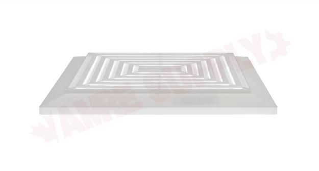 broan nutone exhaust fan grille white
