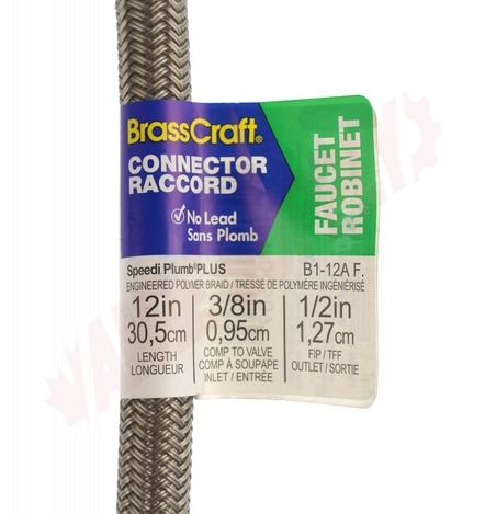 b1 12a brasscraft faucet braided