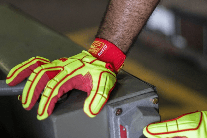 safety report gloves hand injury under reporting