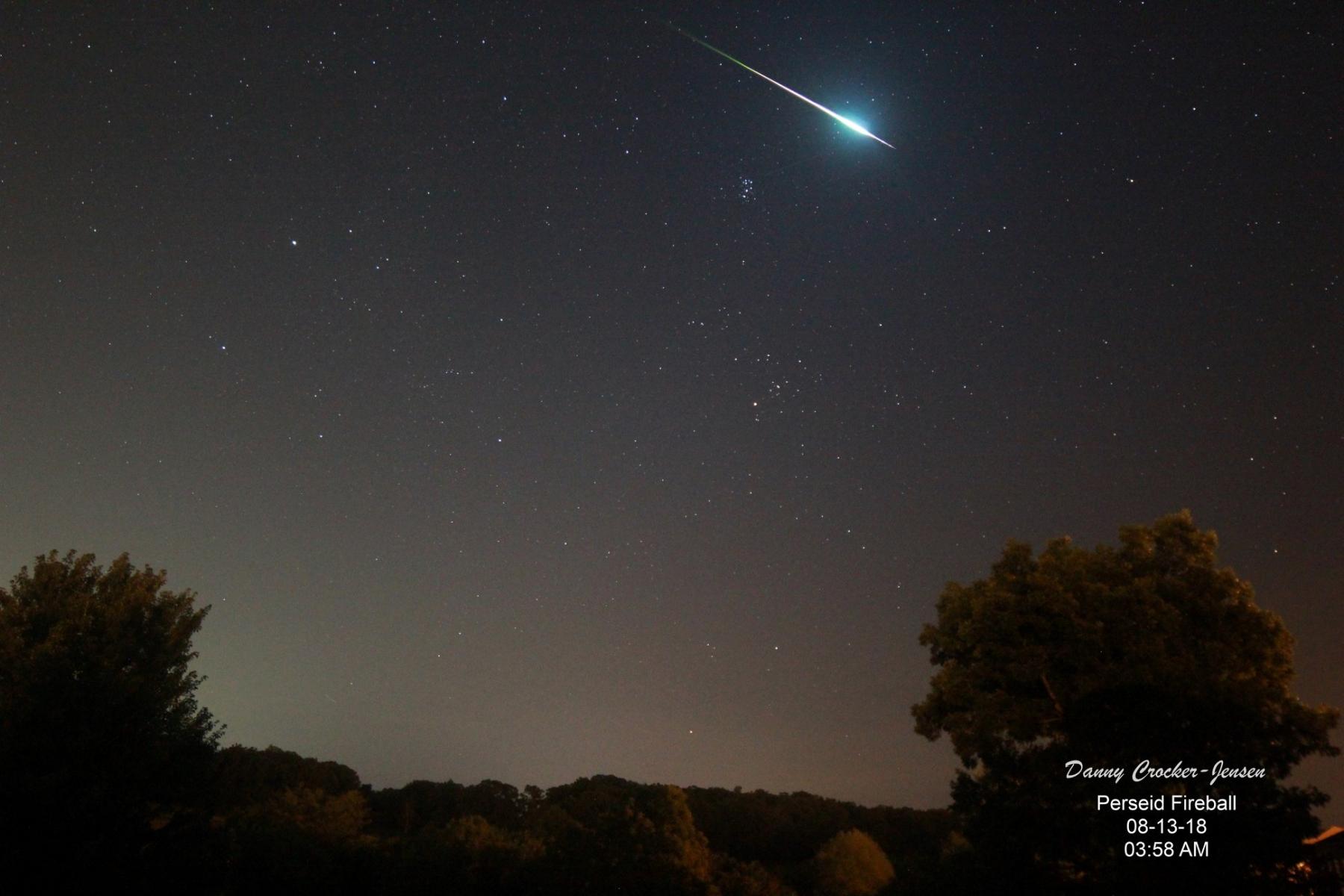 Meteor Activity Outlook For 8 14 September
