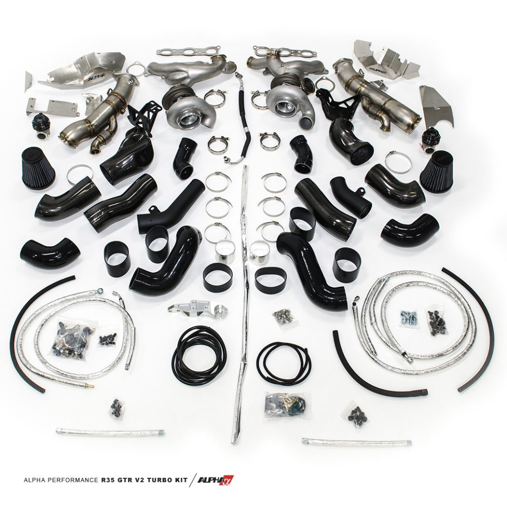 Alpha 10x Version Ii R35 Gt R Turbo Kit By Ams Performance